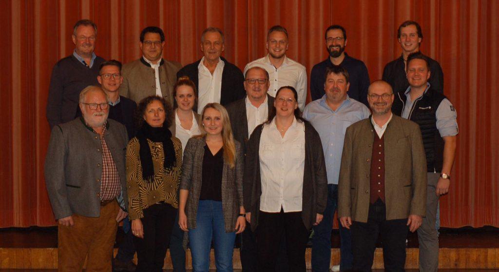 KandidatInnen der Freien Wähler Buchenberg